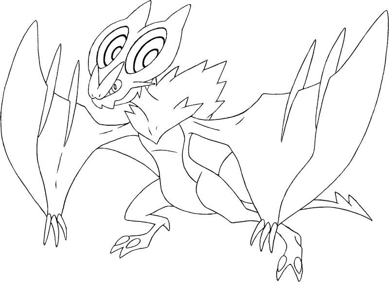 20 dessins de coloriage pokemon x imprimer - Coloriage pokemon ex ...
