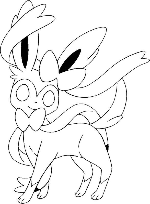19 Dessins De Coloriage Pokemon Xy A Imprimer