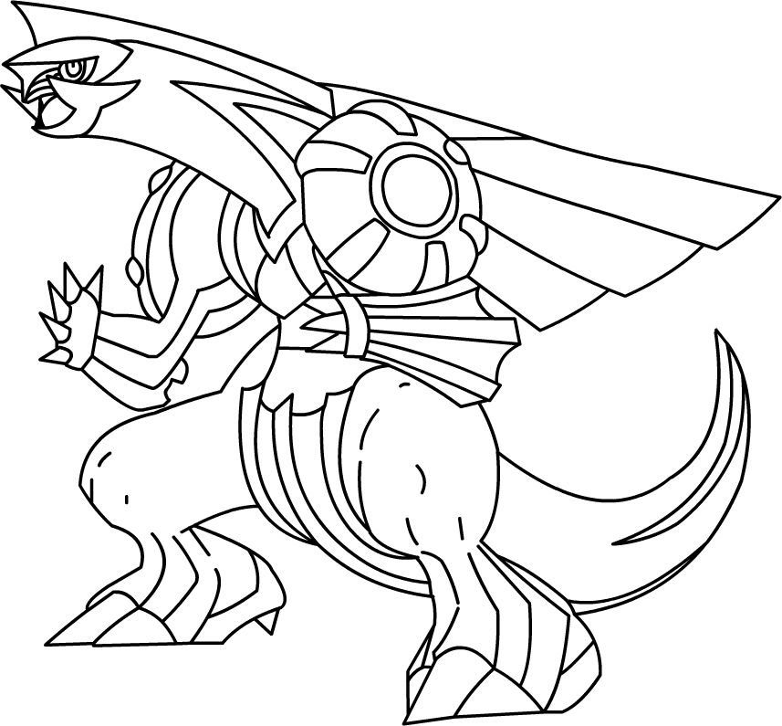coloring pages pokemon zekrom x - photo#19