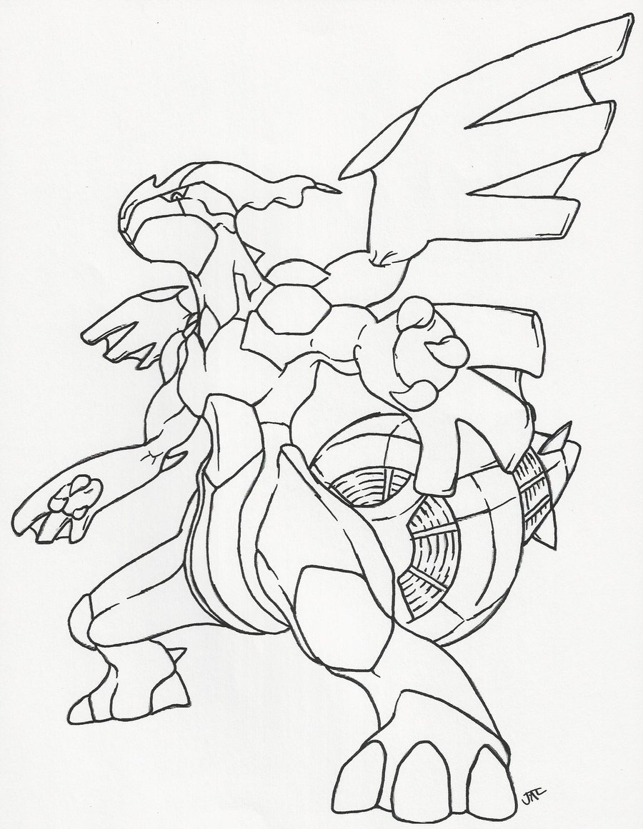 coloring pages pokemon zekrom x - photo#27