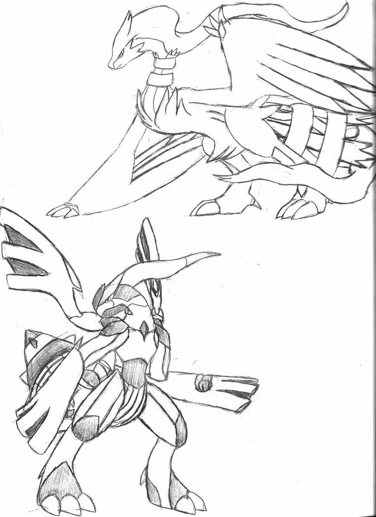 20 Dessins De Coloriage Pokemon Zekrom 224 Imprimer