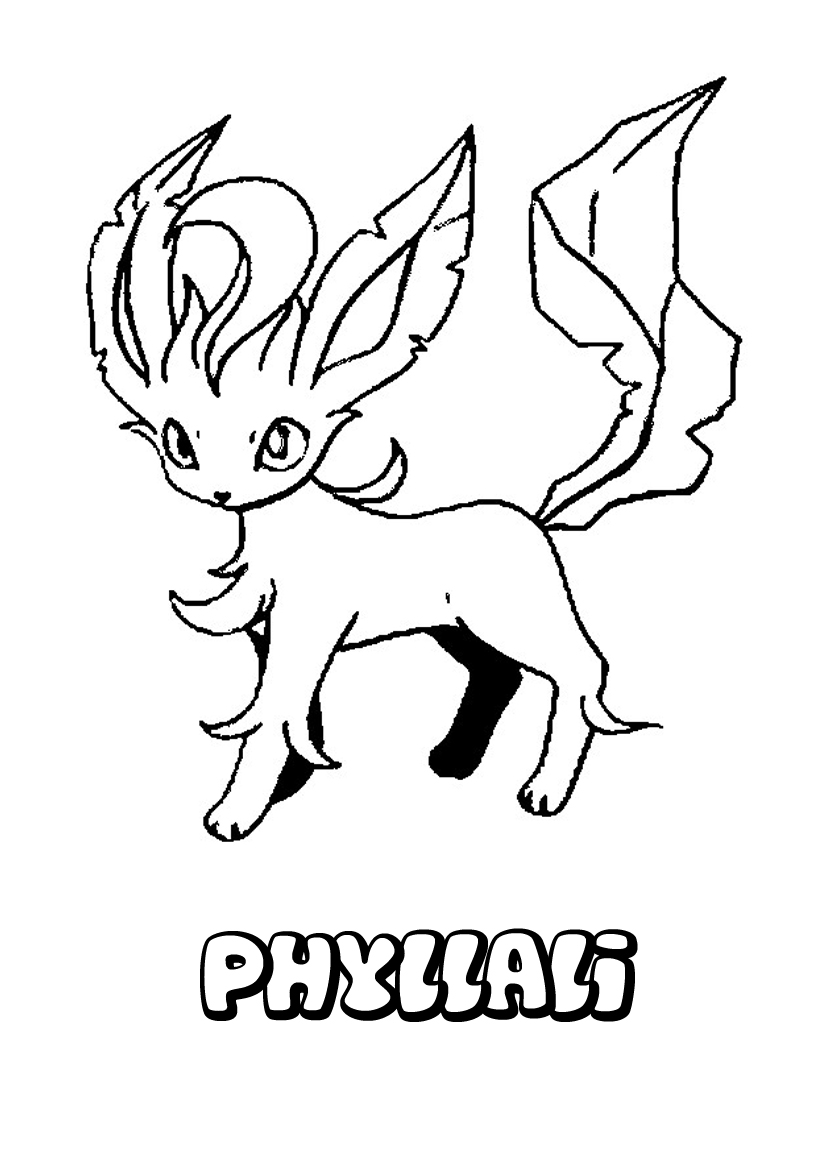 Coloriage pokemon feunnec - Dessins de pokemon ...