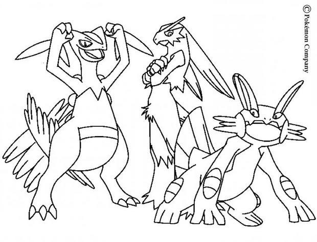 Coloriage pokemon x et y mega evolution - Coloriage de pokemon x y ...