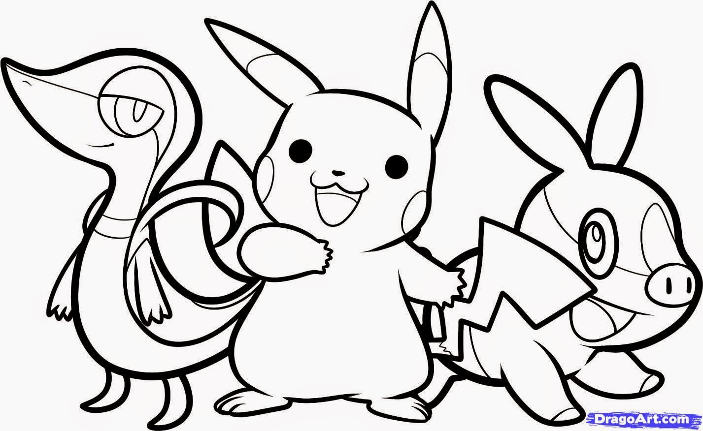 coloriage pokemon 1-20