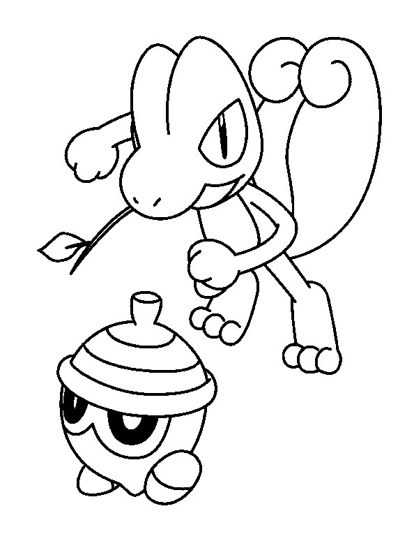 coloriage pokemon brutalibre