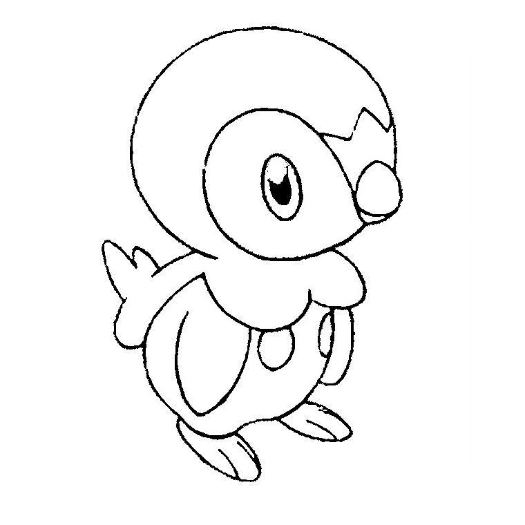 dessin 0 colorier pokemon