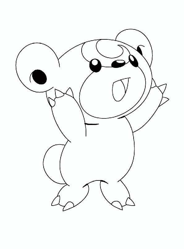 coloriage pokemon version noir et blanc