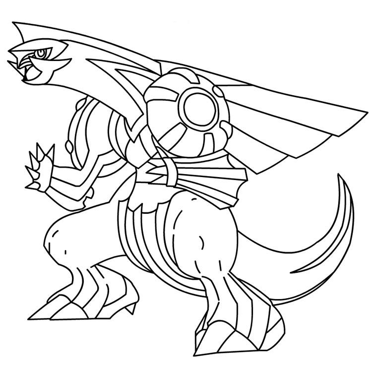 coloriage à imprimer pokemon noir et blanc