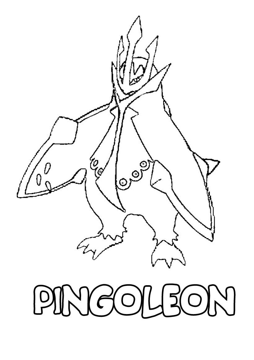 je dessine coloriage pokemon
