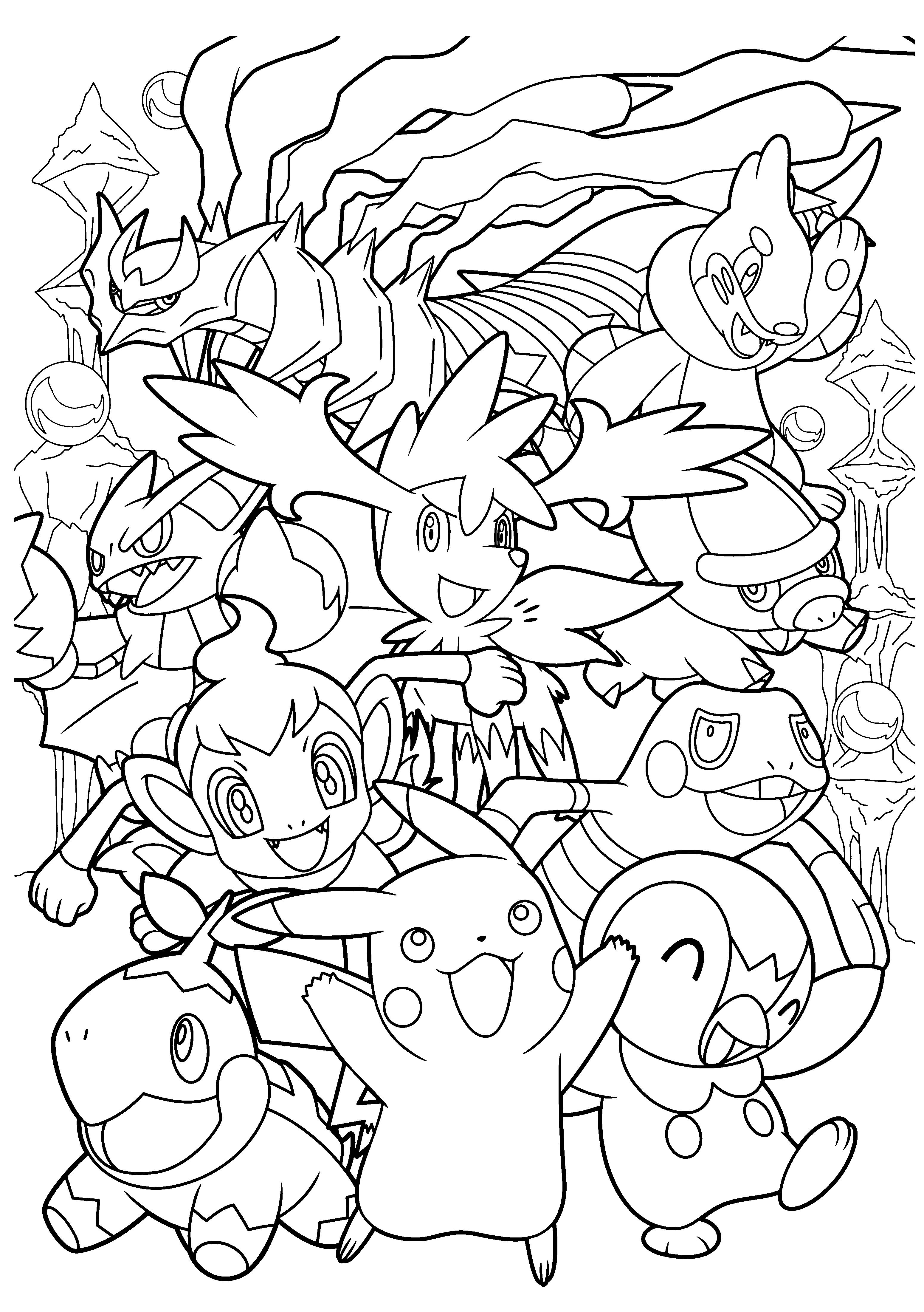 coloriage à imprimer pokemon