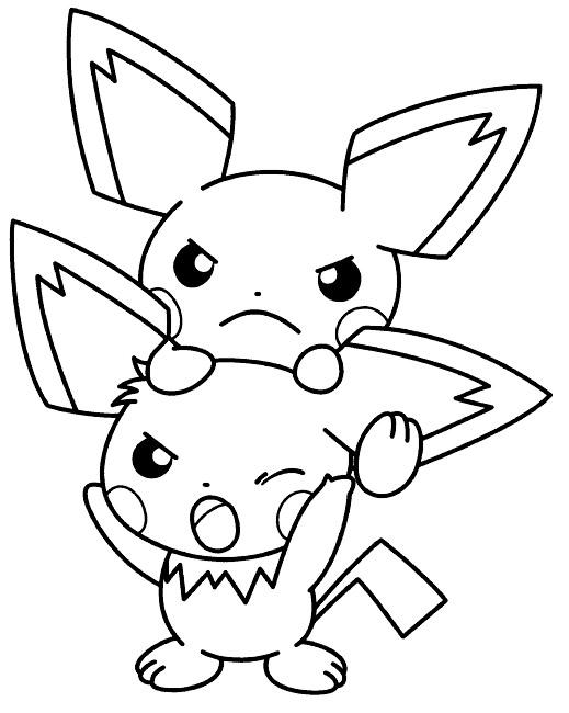 coloriage pokemon evolution