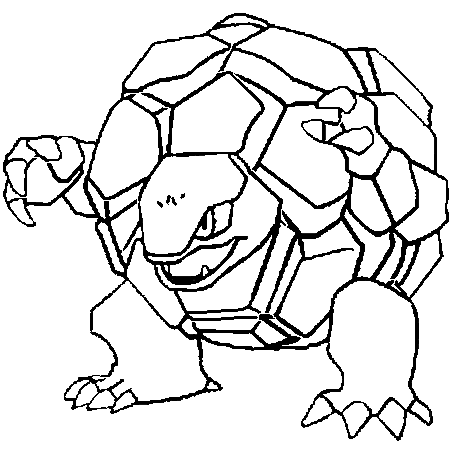 Imprimer un coloriage pokemon - Coloriage carte pokemon ...