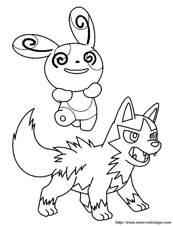coloriage pokemon rare