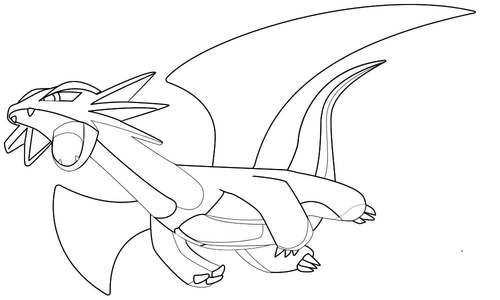 coloriage pokemon galifeu