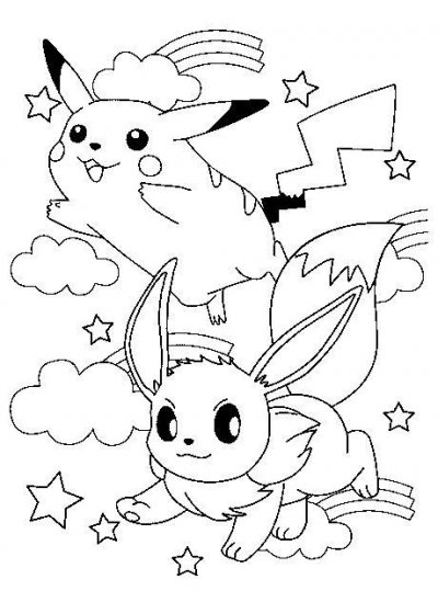 Coloriage Pokemon Gratuit