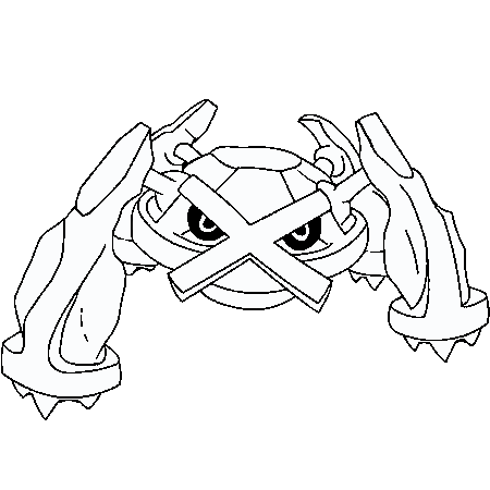 Coloriage pokemon generation 6 - Dessiner un pokemon ...