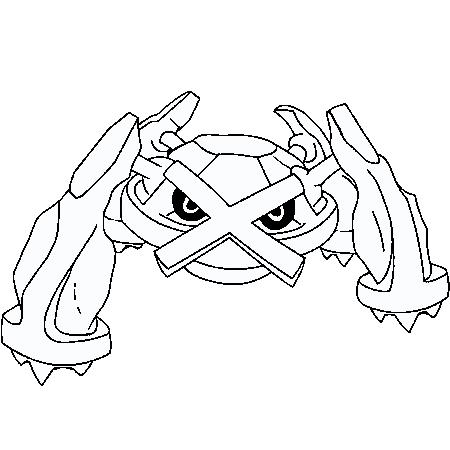 imprimer coloriage pokemon noir et blanc