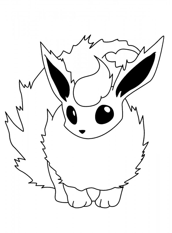 a colorier pokemon