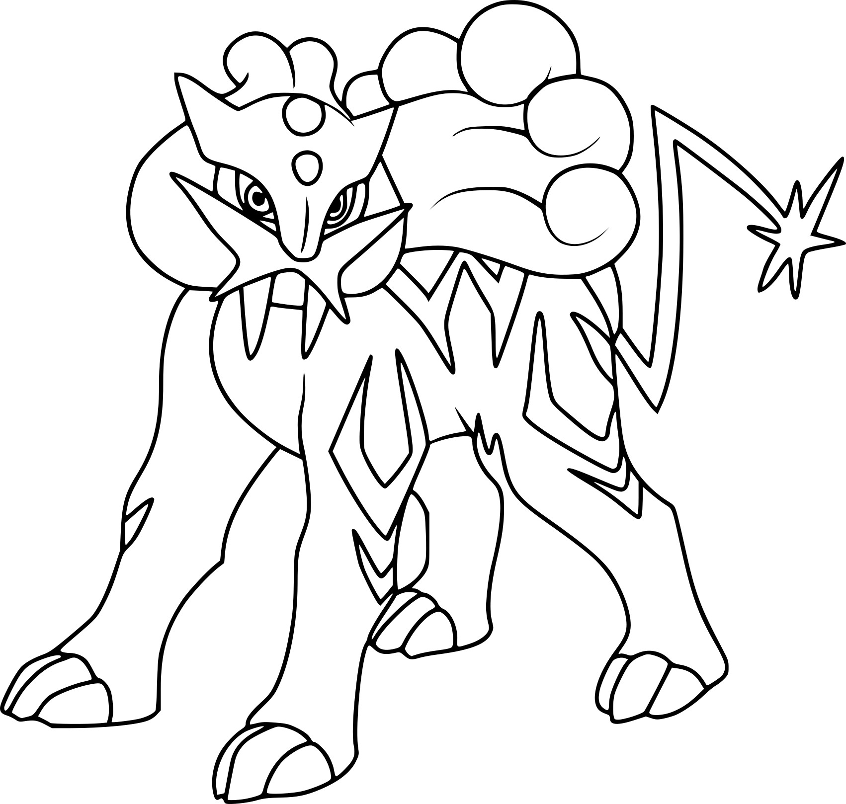 coloriage dragon pokemon