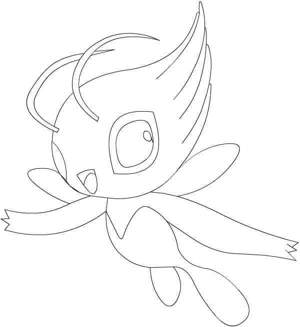 coloriage pokemon 200 pv