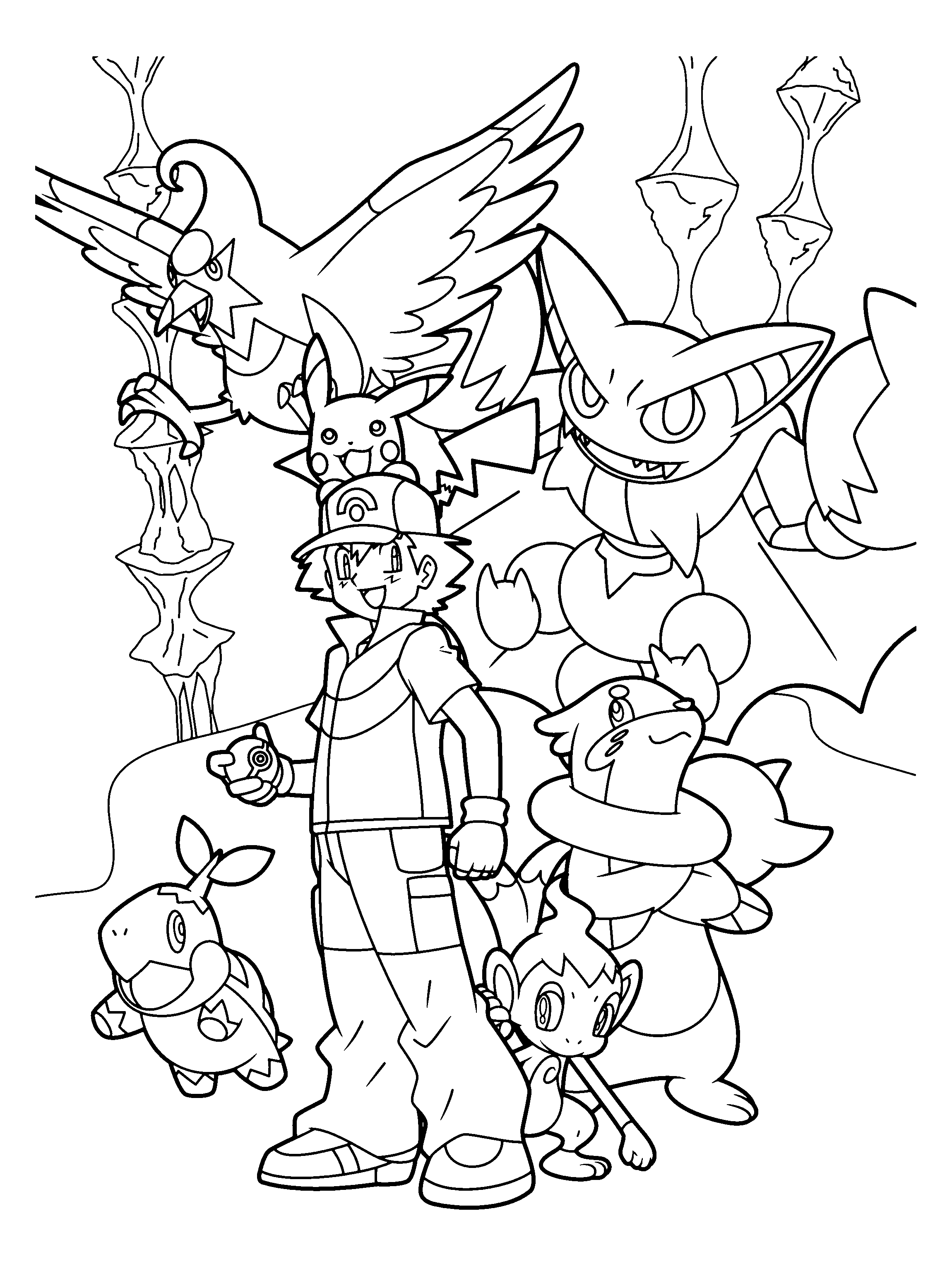 coloriage � dessiner pokemon tiplouf