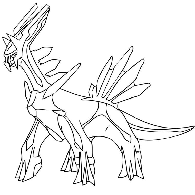coloriage pokemon noir et blanc 2 à imprimer