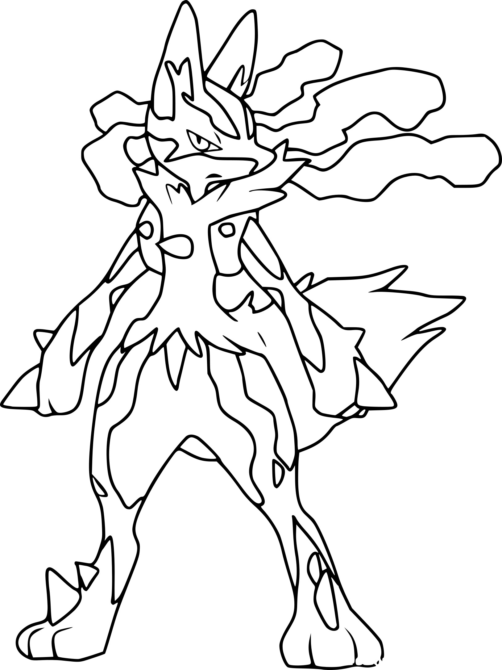 159 Dessins De Coloriage Pokemon à Imprimer