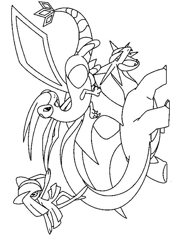 Coloriage Pokemon Hugo L Escargot