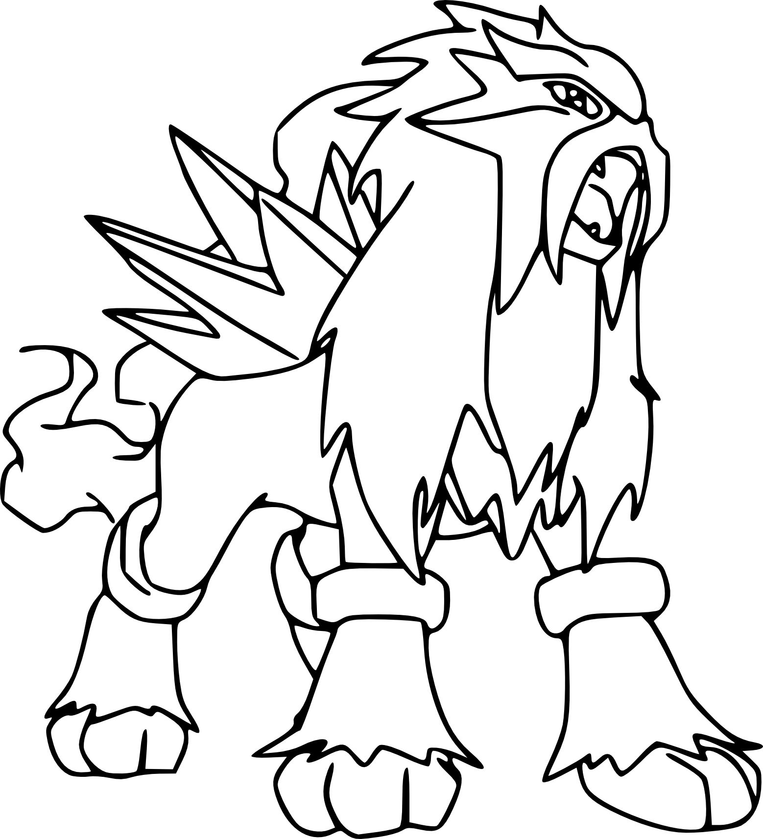 Coloriage Pokemon Ultra Lune