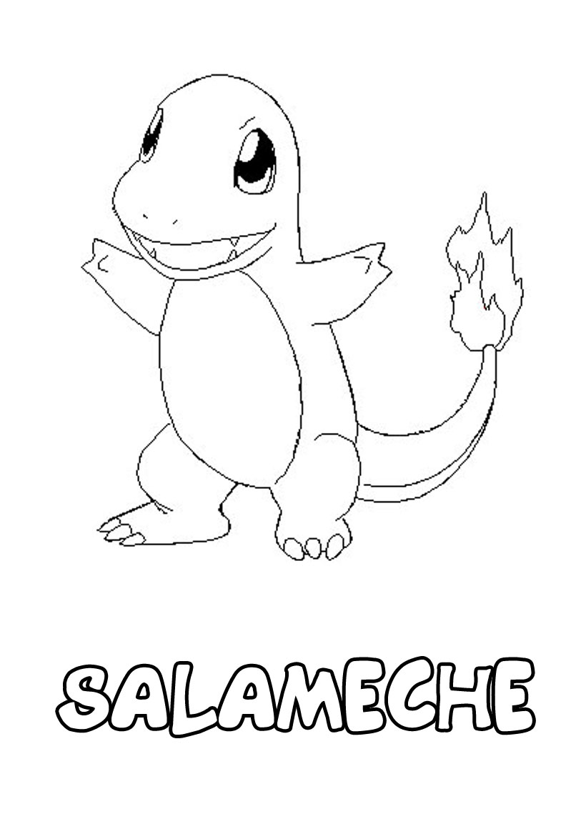 141 dessins de coloriage pokemon imprimer - Dessin facile de pokemon ...