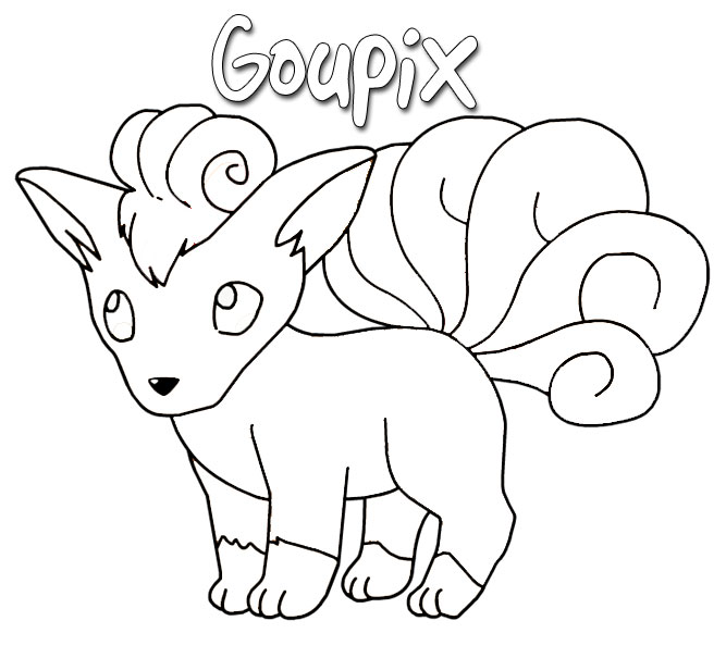 coloriage pokemon à colorier sur l'ordinateur