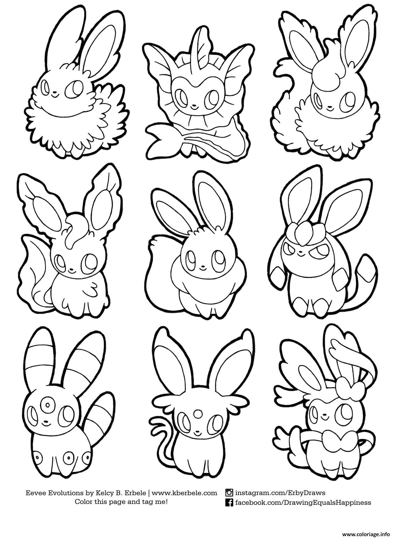 159 Dessins De Coloriage Pokemon A Imprimer