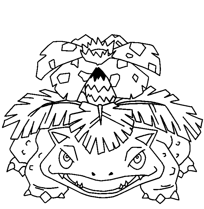coloriage pokemon 1-50