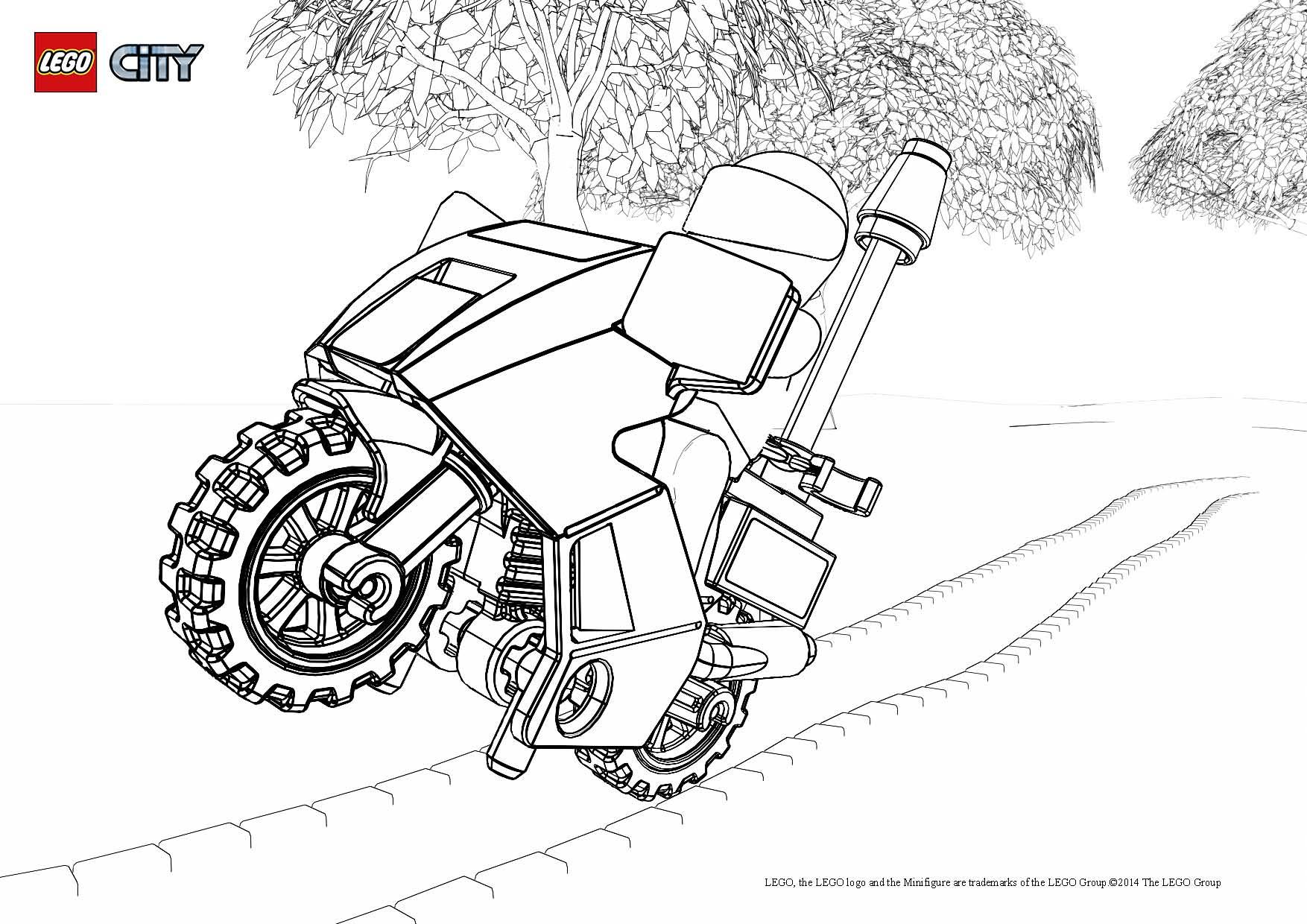 14 dessins de coloriage policier lego imprimer - Coloriage personnage lego ...