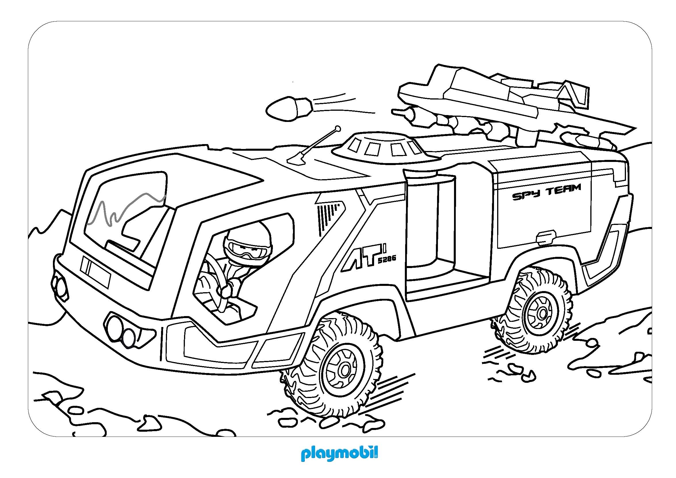 10 dessins de coloriage policier playmobil imprimer. Black Bedroom Furniture Sets. Home Design Ideas
