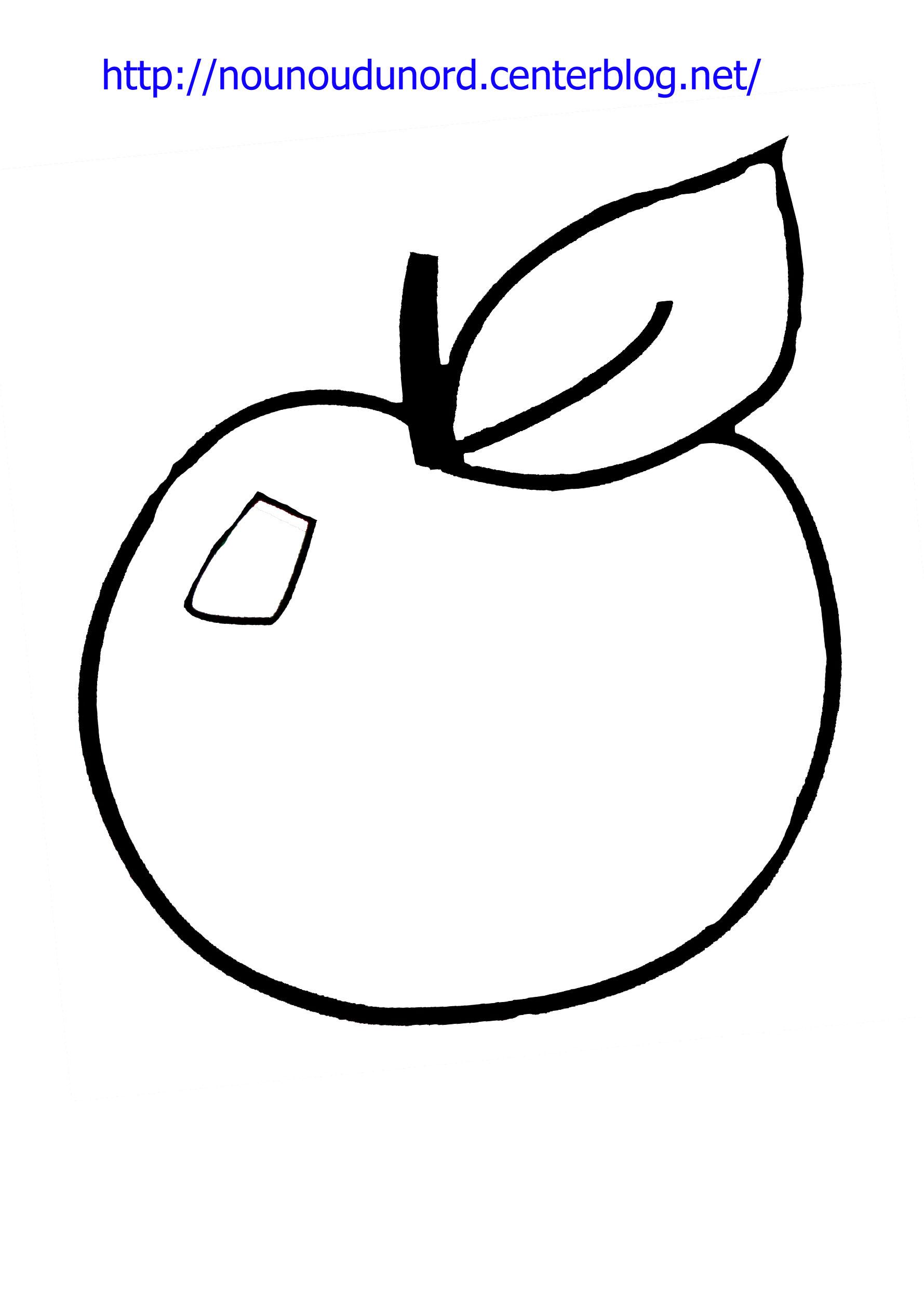coloriage ã dessiner la pomme et l u0027escargot