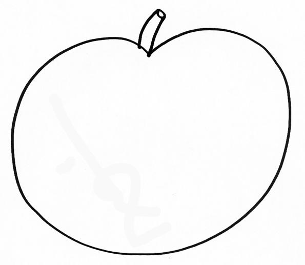 Dessin pomme de pin - Dessin pomme a colorier ...