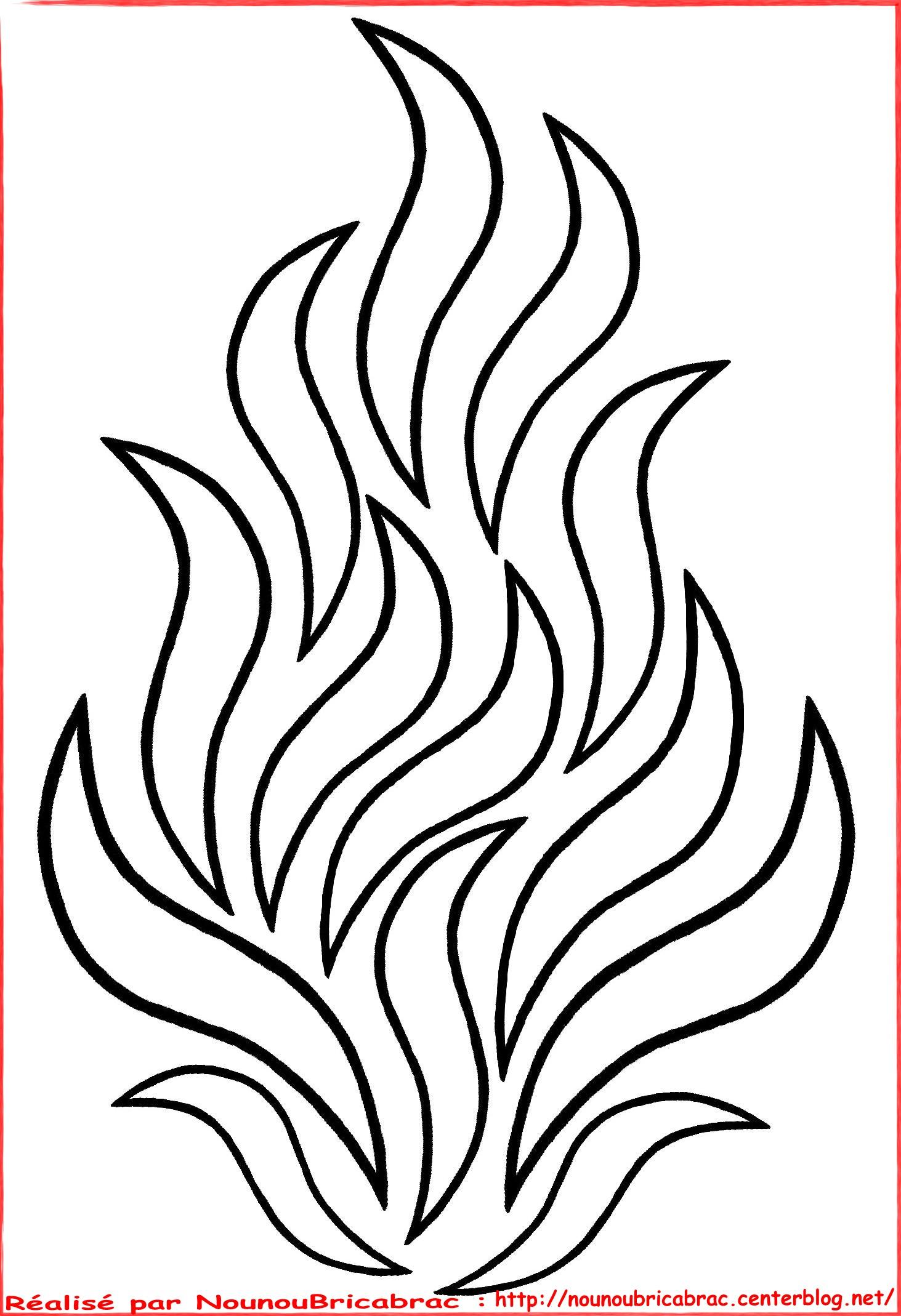 13 dessins de coloriage pompier feu imprimer - Dessin pompier facile ...