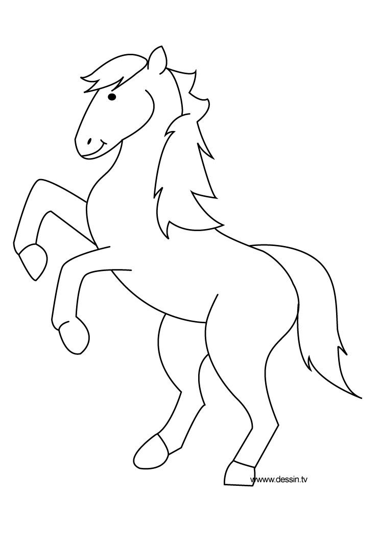 coloriage à dessiner à imprimer little pony
