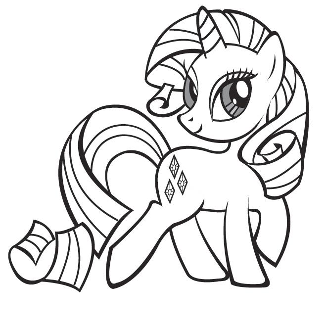 dessin mandala poney