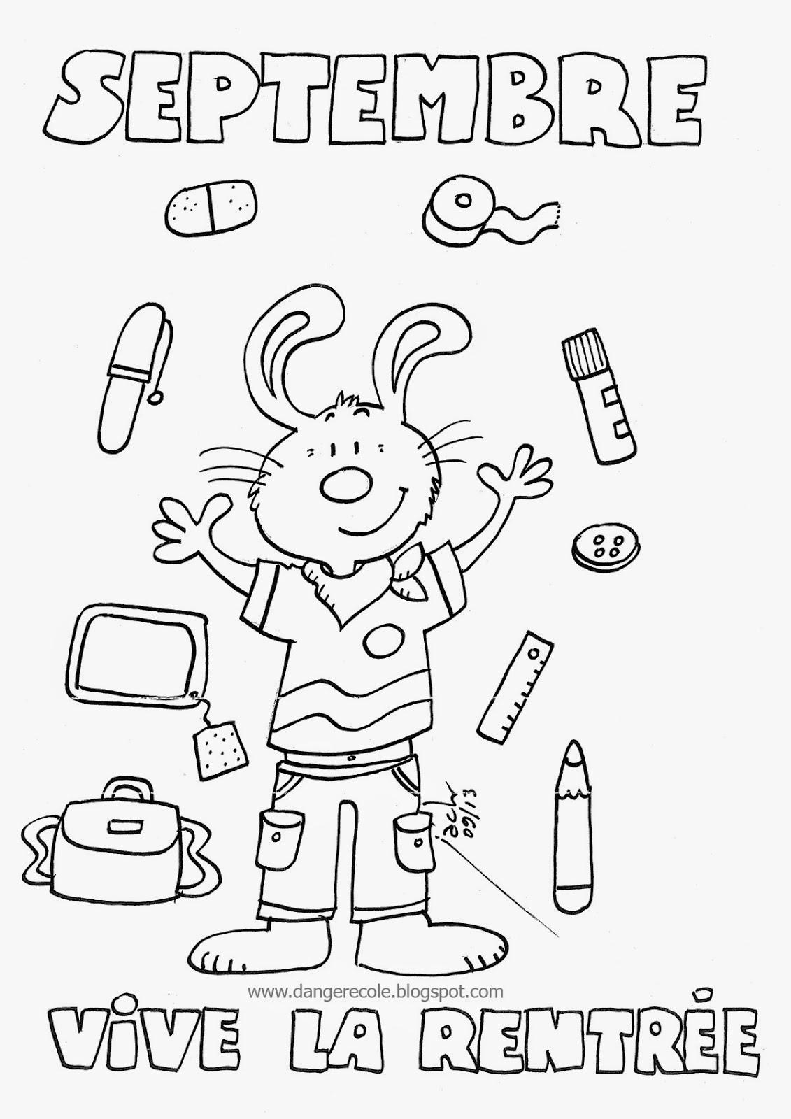 96 dessins de coloriage pour la rentr e des classes imprimer - Coloriage classe ...