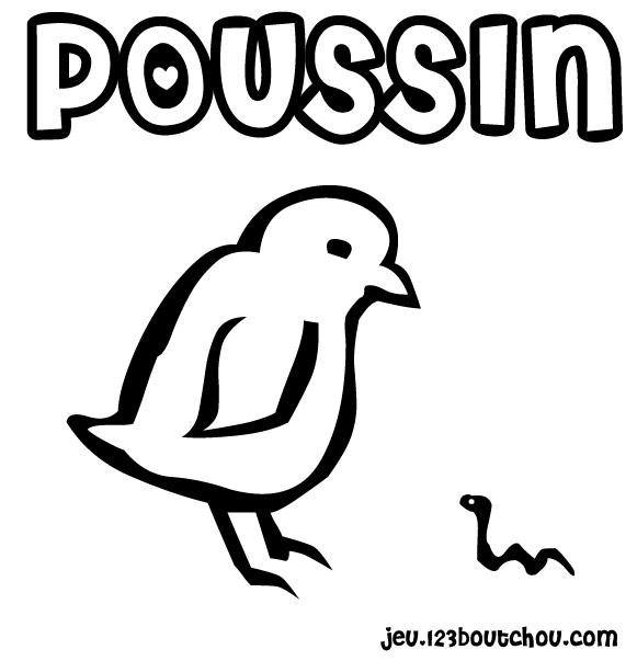Dessin colorier poussin piou imprimer - Poussin a colorier ...