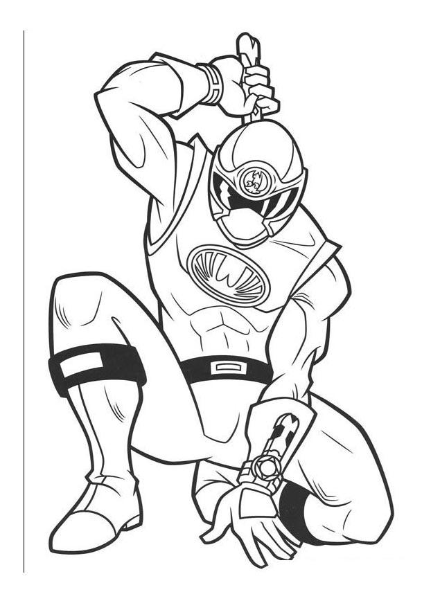 14 dessins de coloriage power rangers imprimer gratuit - Coloriages power rangers ...