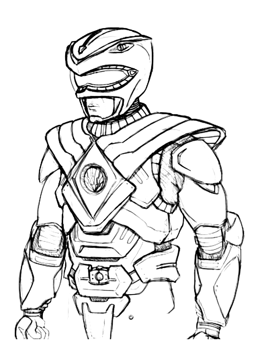 8 dessins de coloriage power rangers megaforce imprimer - Power rangers samurai dessin ...