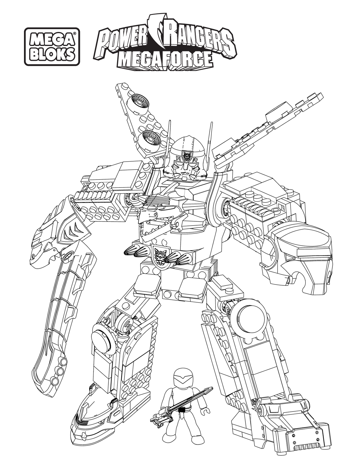 halo mega block coloring pages - photo#10