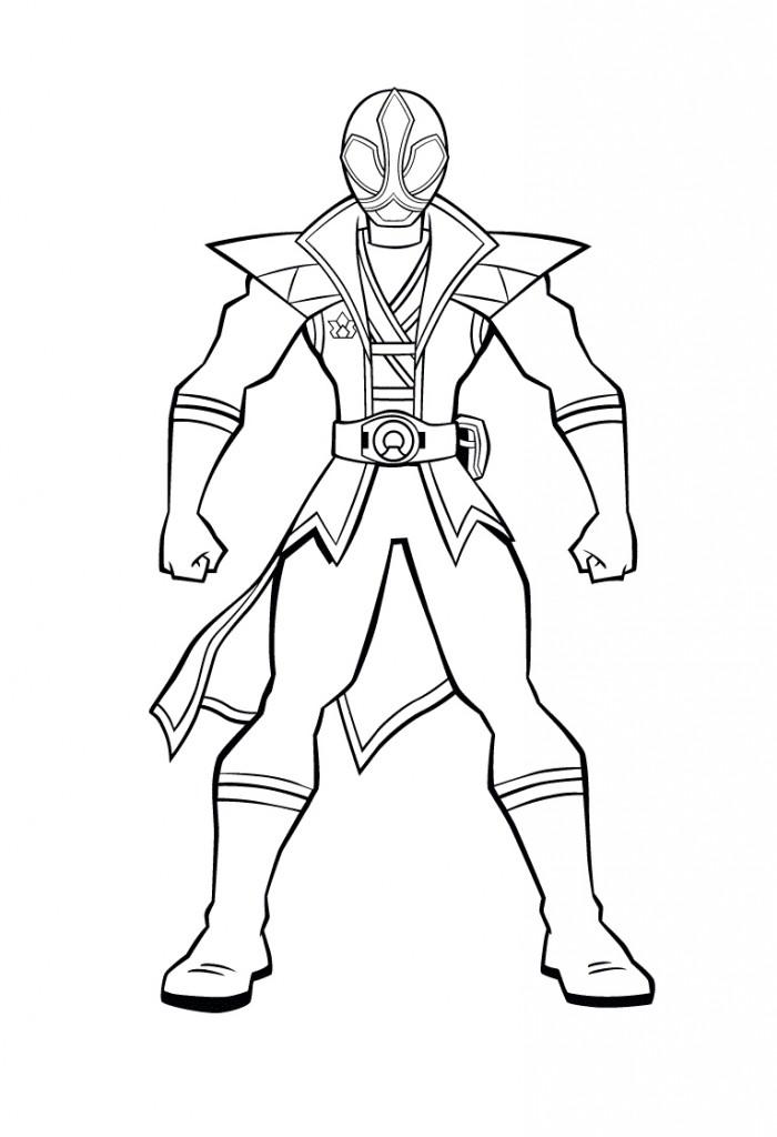 17 dessins de coloriage power rangers rpm imprimer - Power ranger samurai dessin ...