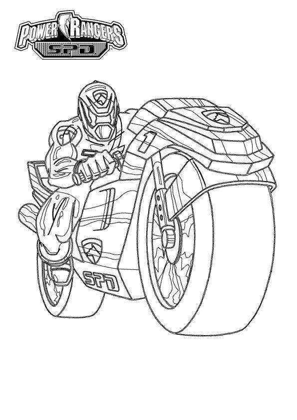 6 dessins de coloriage power rangers samurai imprimer - Coloriage de cars gratuit ...