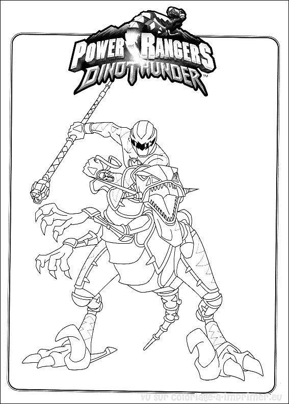 coloriage à dessiner power rangers samurai jaune