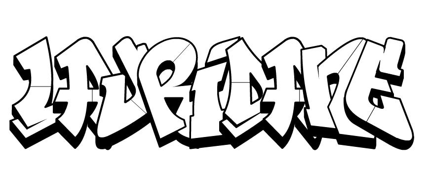 Dessin prenom lisa - Coloriage graffiti ...