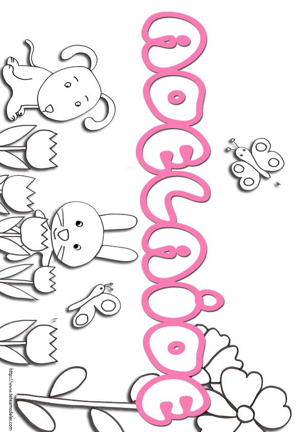 Coloriage prenom chinois - Prenom dessin ...